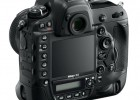 Nikon D4 full-frame DSLR back