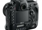 Nikon D4 full-frame DSLR back