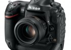 Nikon D4 full-frame DSLR side