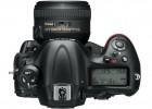 Nikon D4 full-frame DSLR top