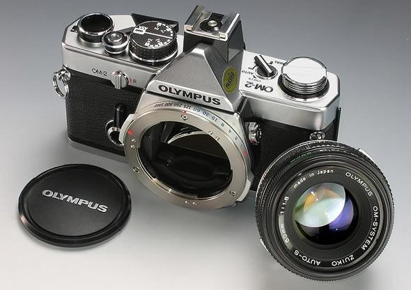 Olympus OM-2 camera