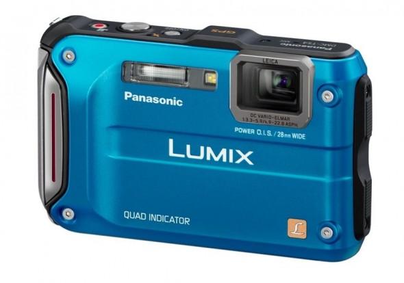 Panasonic TS4 rugged point-and-shoot camera - front