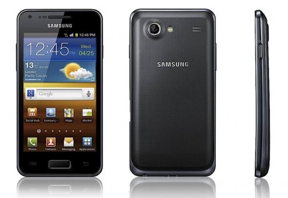 Samsung Galaxy S Advance Android smartphone