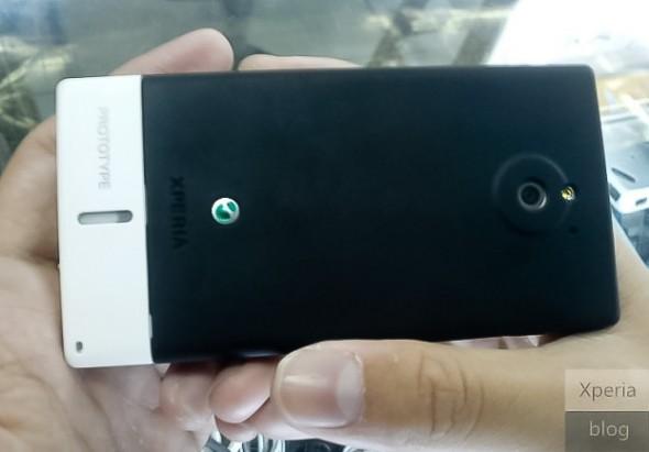 Sony Ericsson MT27i Pepper leaked image back