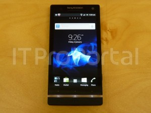 Sony Ericsson Xperia HD Nozomi front