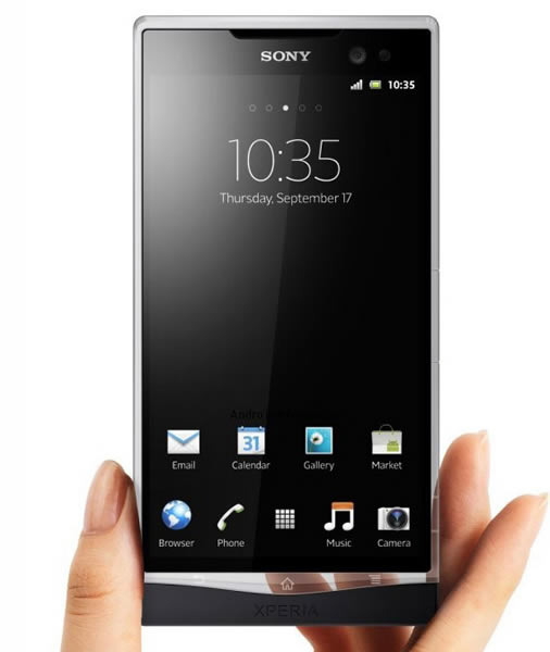 Sony Xperia Glass fan concept phone