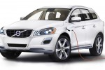 Volvo XC60 plug-in hybrid car