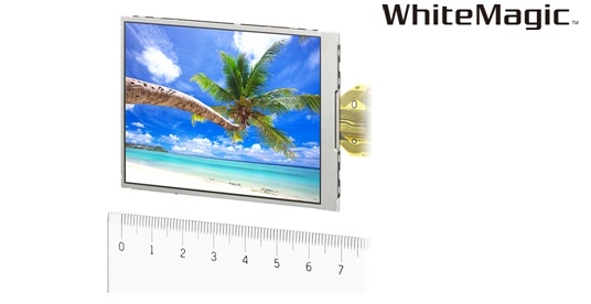 Sony WhiteMagic RGBW 3-inch LCD panel