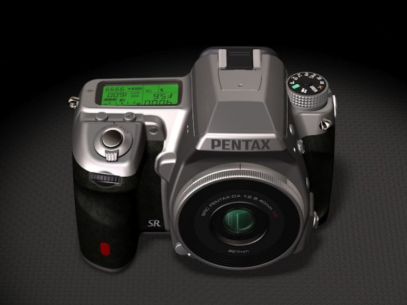 Pentax DA 40mm f/2.8 XS lens mounted on a K-5