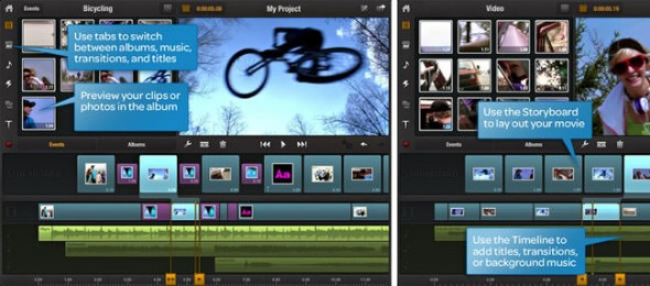 Avid Studio for iPad video editing application