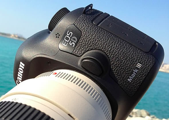Canon EOS 5D Mark III front leaked