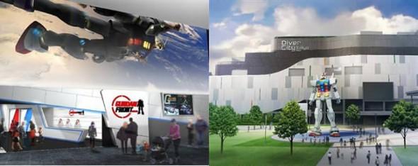 Tokyo Gundam Front theme park