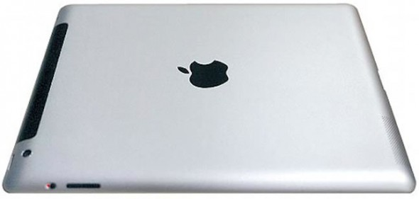 iPad 3 leaked back with new camera and gentler curvature