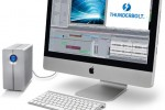 LaCie 2big Thunderbolt drive connected to an iMac