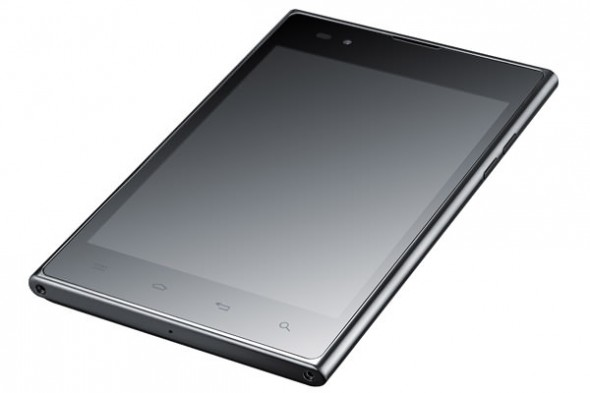 LG Optimus Vu 5.3-inch Android smartphone front