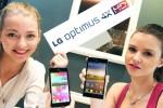 LG Optimus 4X HD Tegra 3 Android smartphone