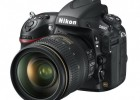 Nikon D800 full-frame DSLR - front side