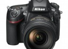 Nikon D800 full-frame DSLR - front top
