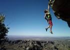 Nokia 808 sample image: rock climbing hanging