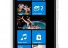 Nokia Lumia 800 white front - Metro UI