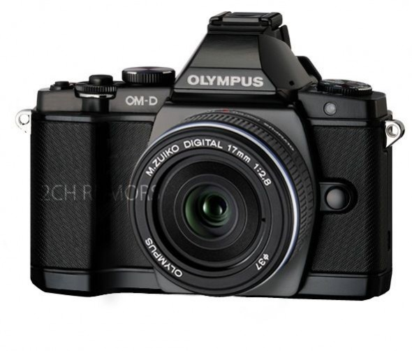 Olympus OM-D E-M5 black leak