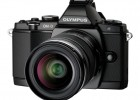 Olympus OM-D E-M5 MFT digital camera - black - front side
