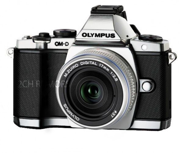 Olympus OM-D E-M5 silver leak