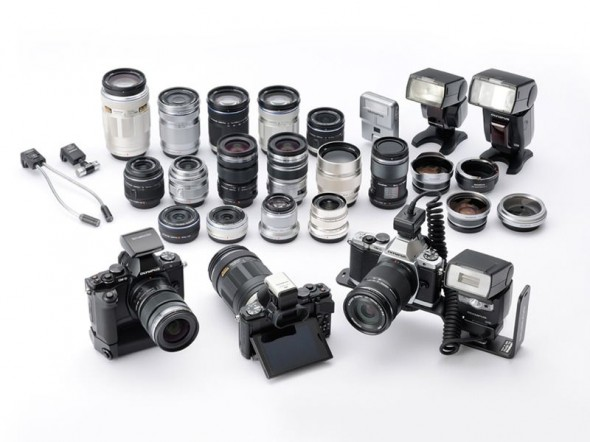 Olympus OM-D E-M5 system and accessories