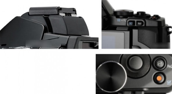 Olympus OM-D leaked part medley