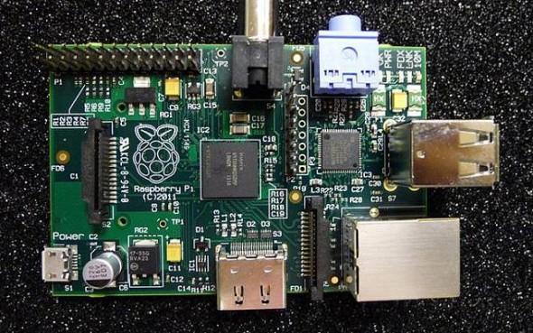 Raspberry Pi Model B board photo