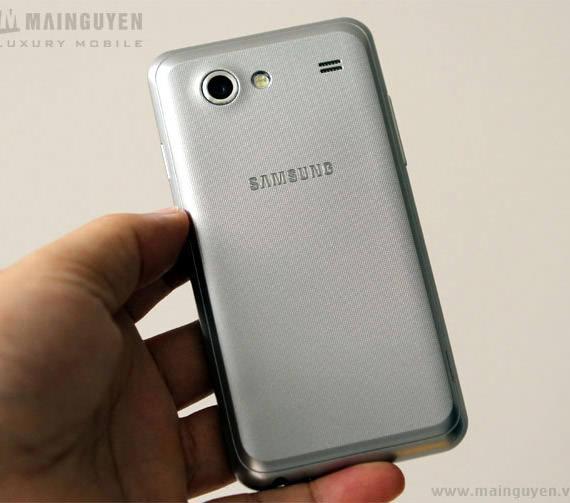 Samsung Galaxy S Advance back white