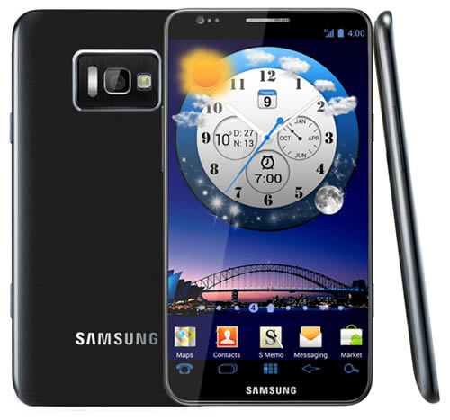 Samsung Galaxy S III mock-up