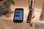 Galaxy Nexus in the bathroom