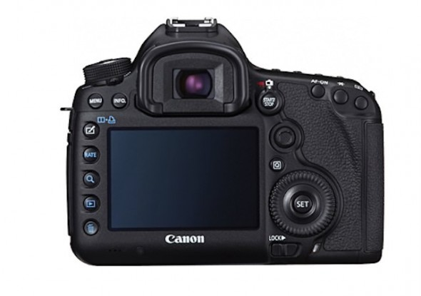 Canon EOS 5D Mark III back
