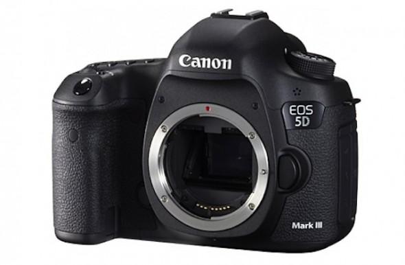 Canon EOS 5D Mark III front