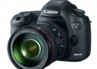 Canon EOS 5D Mark III front side with lens