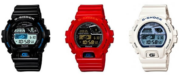 Casio G-SHOCK GB-6900 Bluetooth LE watch