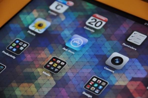 Cuben Space 7 new iPad Retina Wallpaper