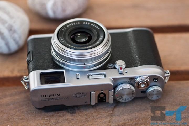 Fujifilm X100 digital camera - lying down