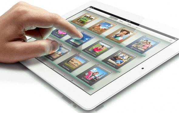 3rd generation iPad with retina display