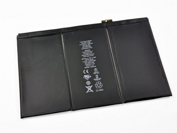 3rd generation iPad teardown 43Whr battery pack