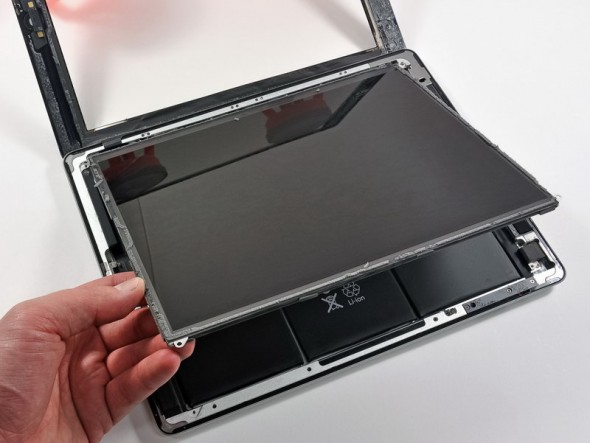 3rd generation iPad teardown lifting the retina display