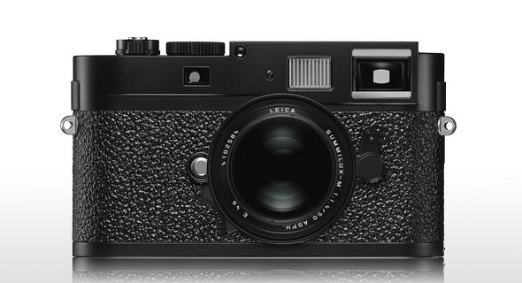 Leica M9 digital Rangefinder - black and white