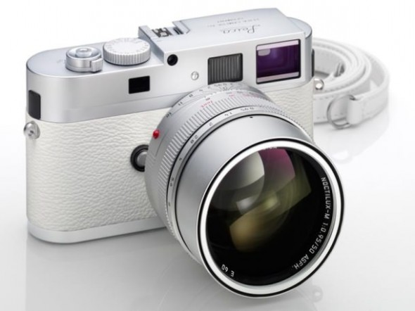 White Leica M9-P limited edition