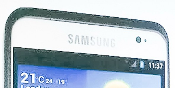Samsung Galaxy S III close-up - fake proof