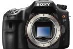 Sony SLT-A65 digital camera front sensor