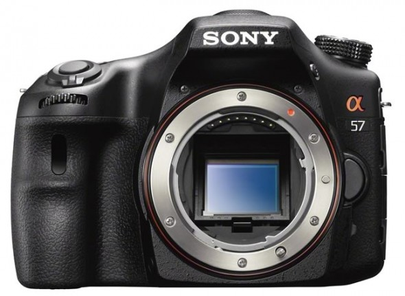 Sony SLT-A65 digital camera front sensor