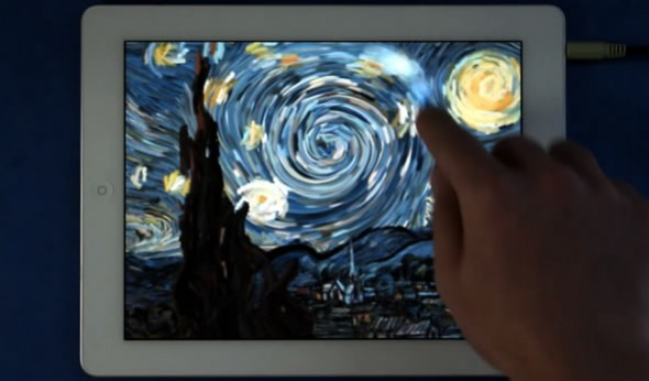 The Starry Night interactive iPad app