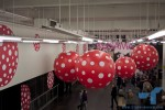 Yayoi Kusama retrospective at the Tate Modern in London