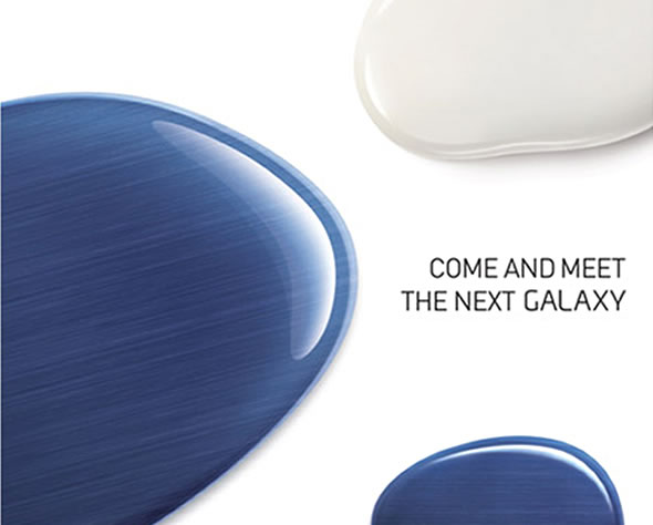 "Samsung May 3 2012 ""next Galaxy"" Unpacked London event invite"